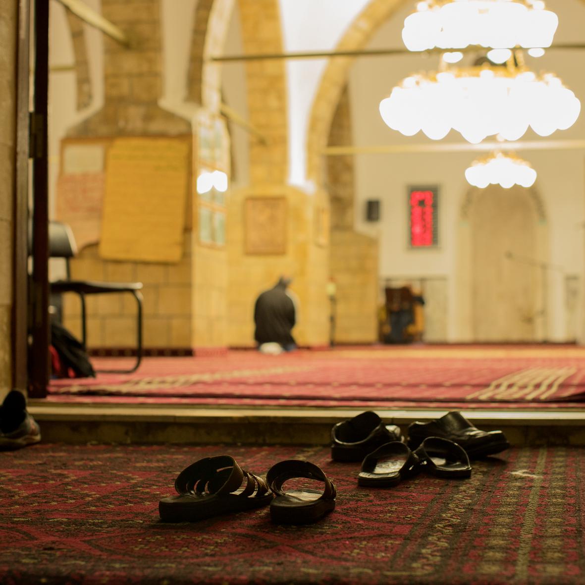 In der Moschee, Jaffa