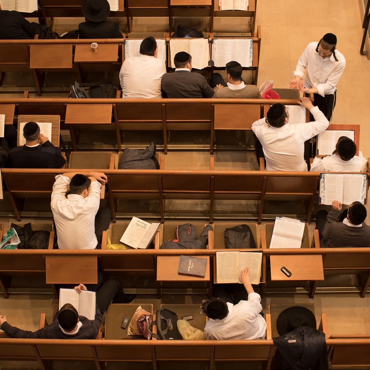 In der Synagoge, Jerusalem