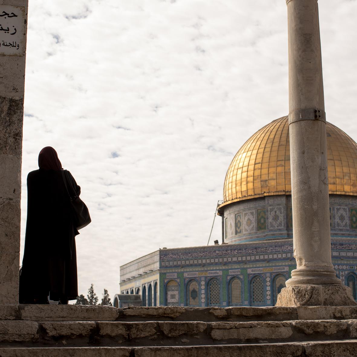 Am Tempelberg, Jerusalem