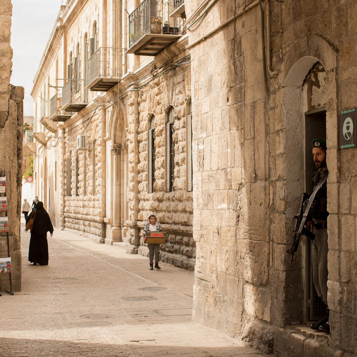 Am Löwentor, Jerusalem