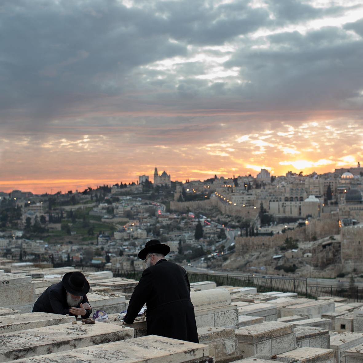 Beten am Ölberg, Jerusalem