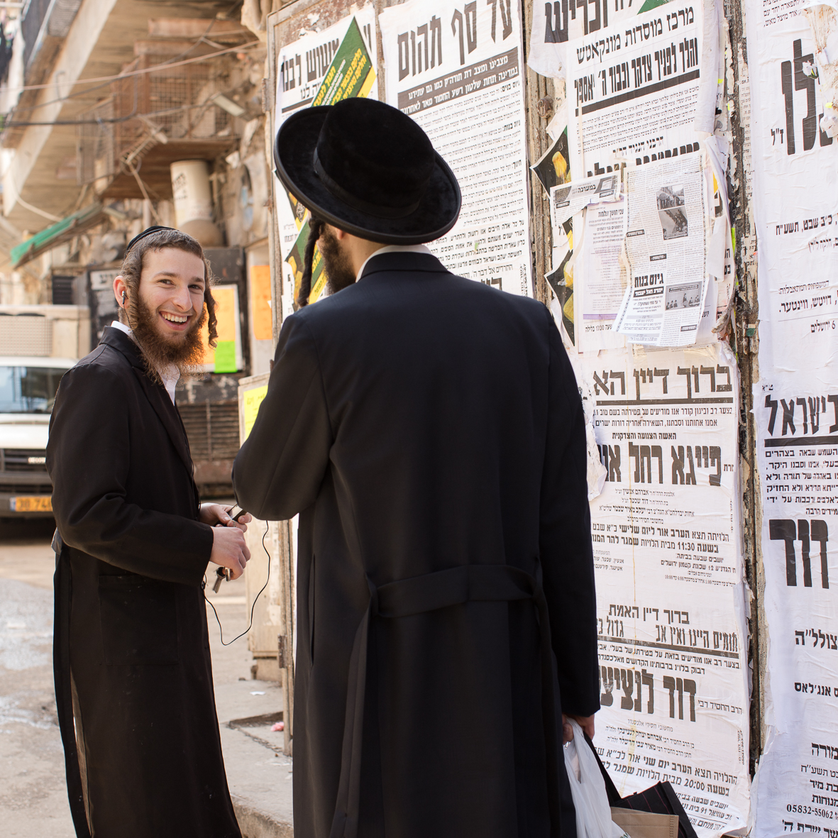 In Mea Shearim 1, Jerusalem