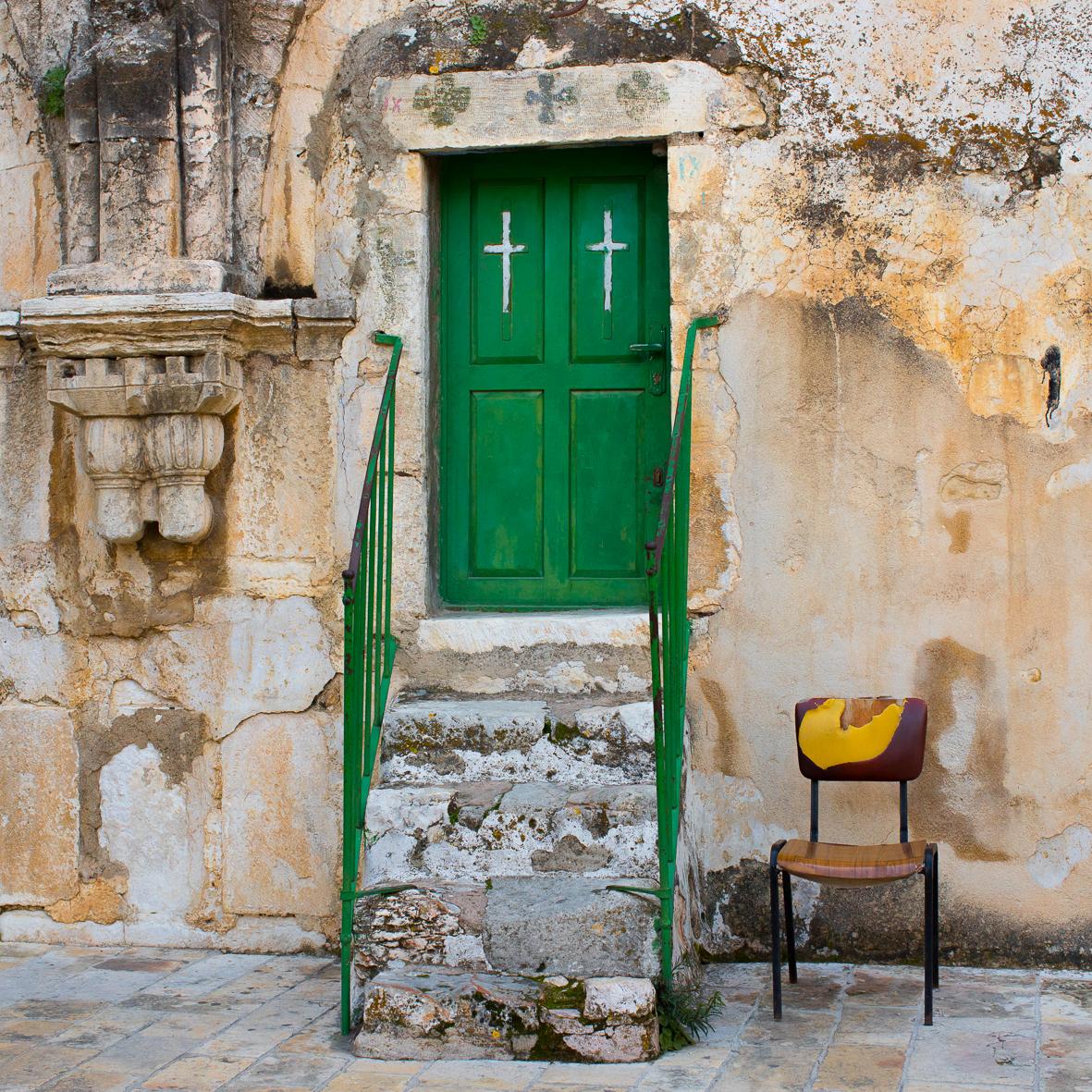 Im äthiopischen Kloster 1 , Jerusalem