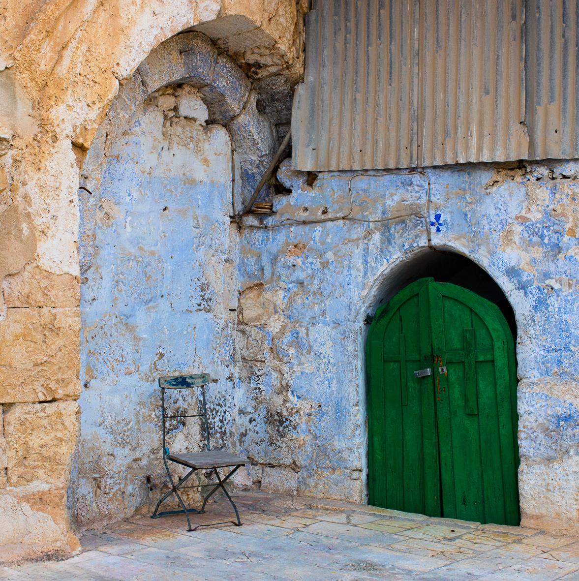 Im äthiopischen Kloster 2 , Jerusalem