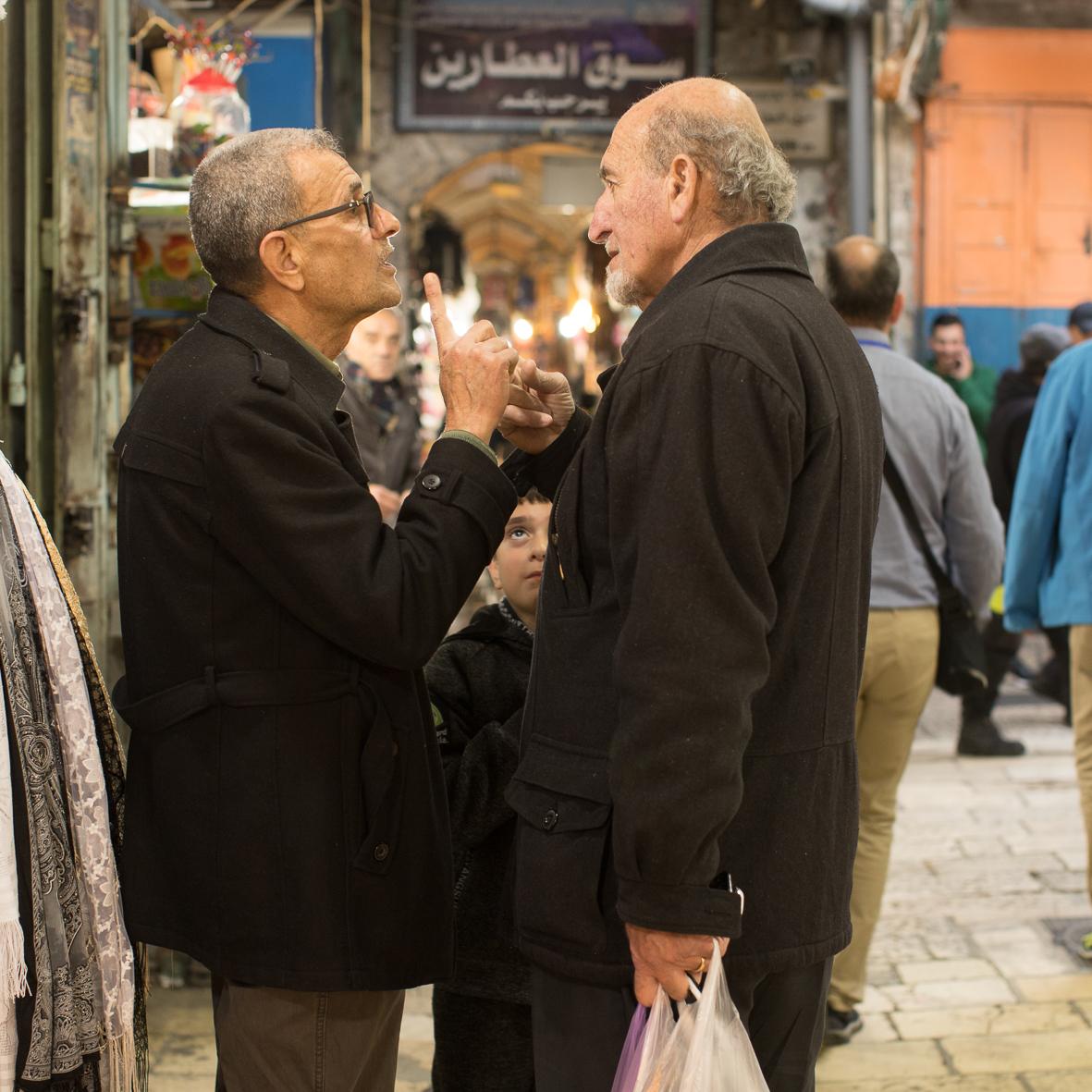 Auf dem arabischen Markt 2, Jerusalem