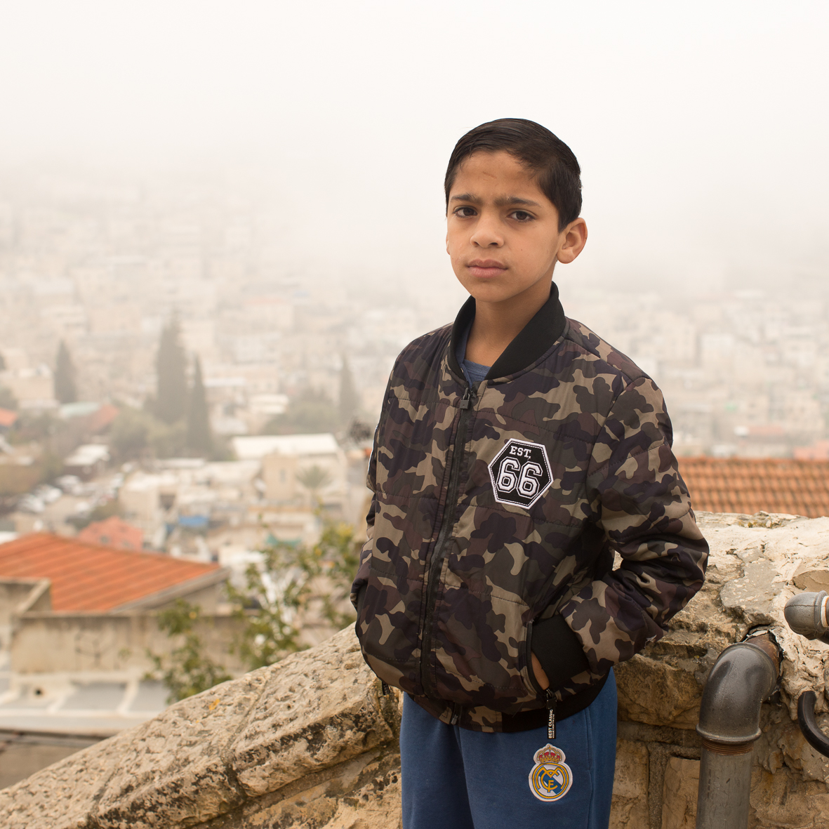 Arabischer Junge, Jerusalem