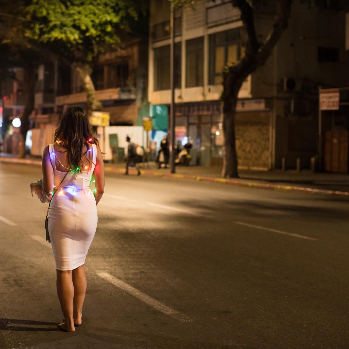 Lichterkette, Tel Aviv