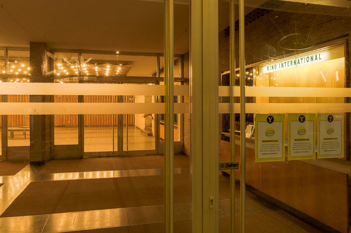 Kino International Eingang