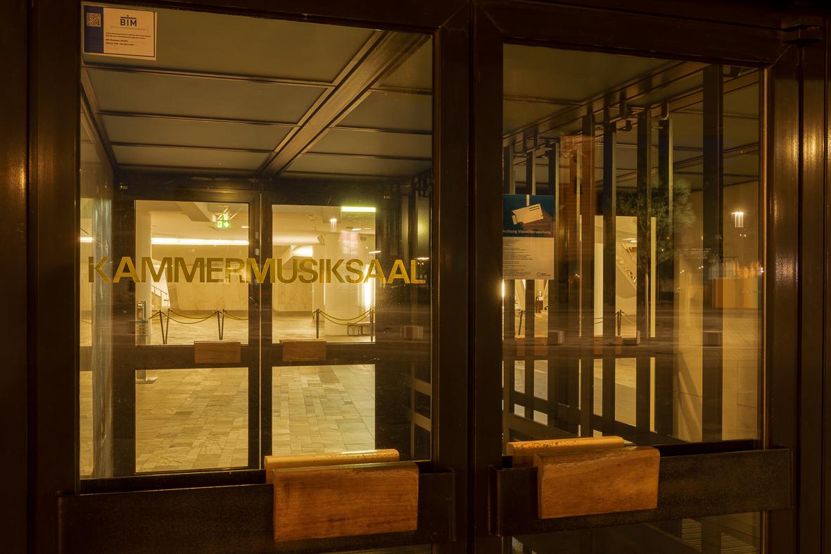 Kammermusiksaal Eingang